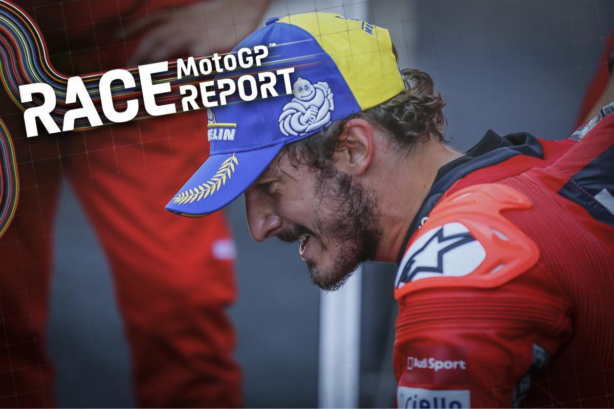 Bagnaia prevails in an Aragon thriller vs Marc Marquez