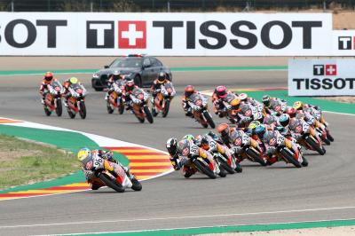 Red Bull Rookies Cup: Race 2 in Aragon