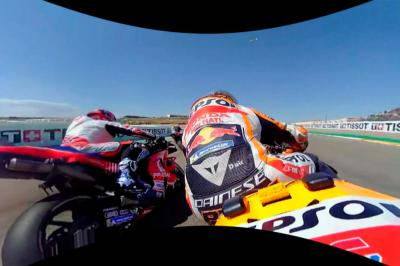 OnBoard: Enjoy the start from the Aragon GP in full 360