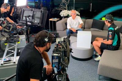 Rossi, invitado de lujo de 'La caja de DAZN'