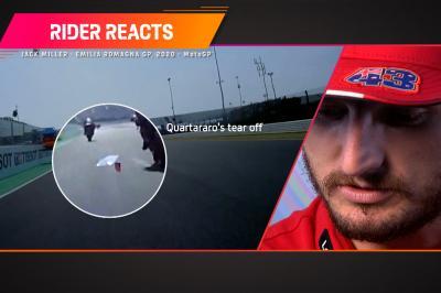 Rider Reacts: Miller e un imprevisto surreale a Misano