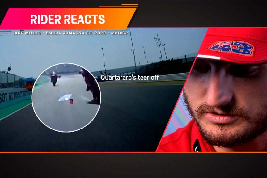 Rider reacts_Jack Miller_ARA_2021