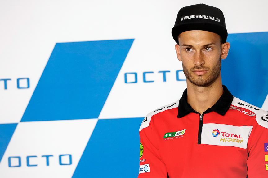 Lukas Tulovic, Tech3 E-Racing, Gran Premio Octo di San Marino e della Riviera di Rimini