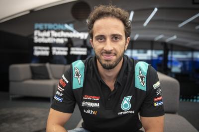 Dovizioso regresa a MotoGP™ con el Petronas Yamaha SRT
