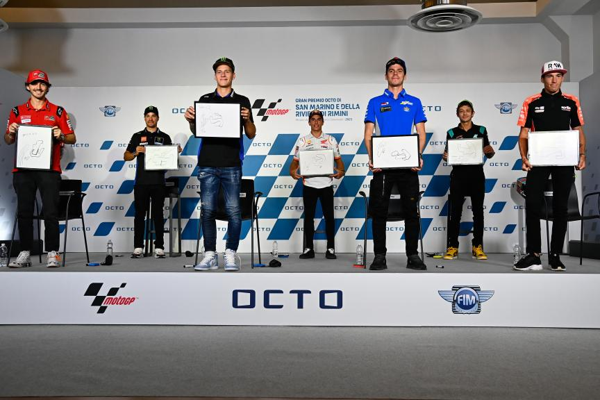 Press-Conference, Gran Premio Octo di San Marino e della Riviera di Rimini