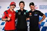 Francesco Bagnaia, Valentino Rossi, Franco Morbidelli, Press-Conference, Gran Premio Octo di San Marino e della Riviera di Rimini