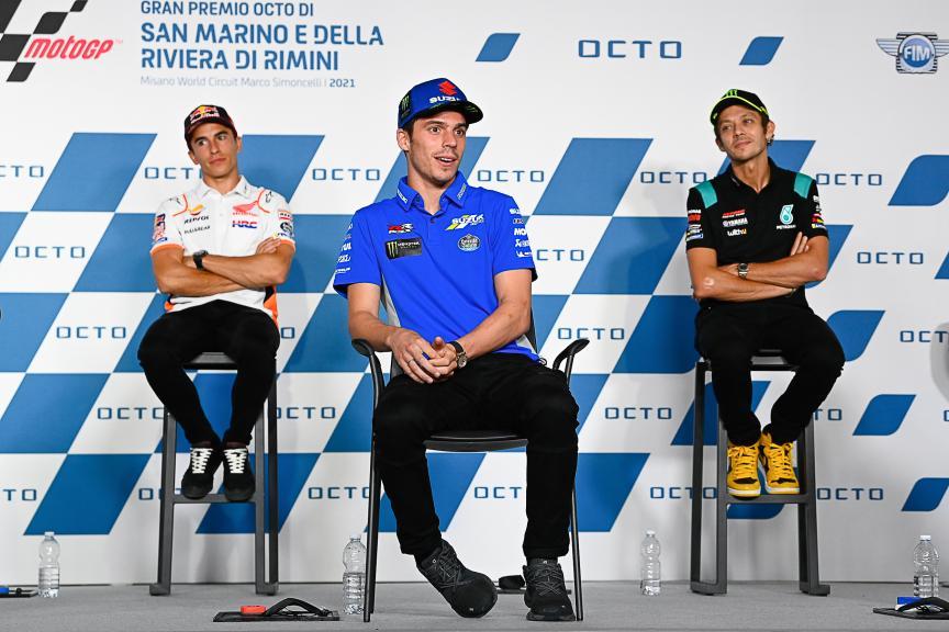 Marc Marquez, Joan Mir, Valentino Rossi, Gran Premio Octo di San Marino e della Riviera di Rimini