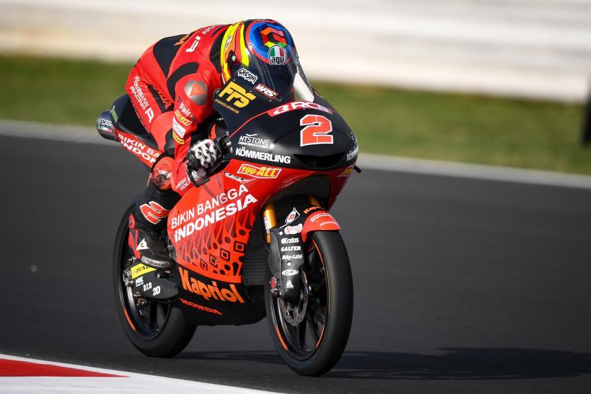 Gabriel Rodrigo, Indonesian Gresini Racing Moto3, Gran Premio Octo di San Marino e della Riviera di Rimini