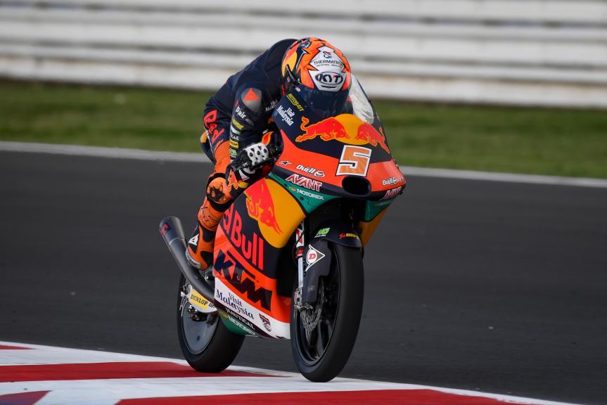 Jaume Masia, Red Bull KTM Ajo, Gran Premio Octo di San Marino e della Riviera di Rimini