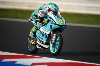 Moto3™ : Parfaite entrée en matière pour Foggia !