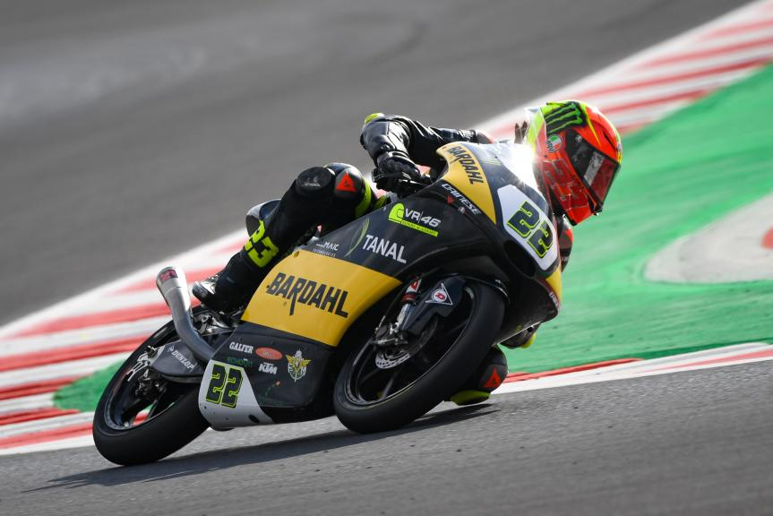 Elia Bartolini, Bardahl VR46 Riders Academy, Gran Premio Octo di San Marino e della Riviera di Rimini