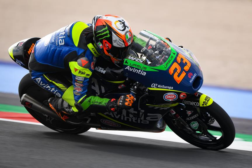 Niccolò Antonelli, Avintia VR46, Gran Premio Octo di San Marino e della Riviera di Rimini