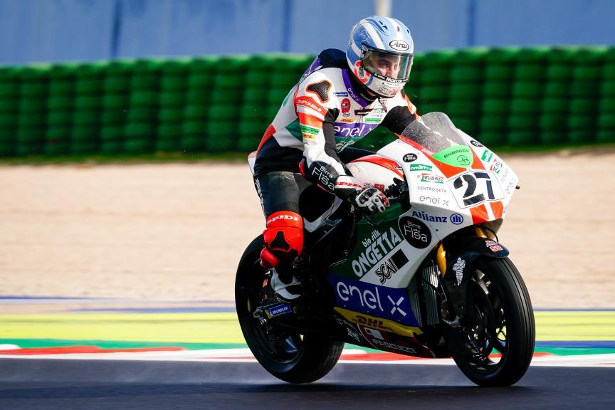 Mattia Casadei, Ongetta Sic58 Squadracorse, Gran Premio Octo di San Marino e della Riviera di Rimini