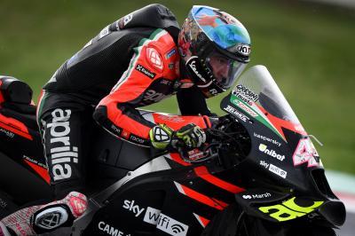 Aleix: 'Das Motorrad ist konkurrenzfähig'