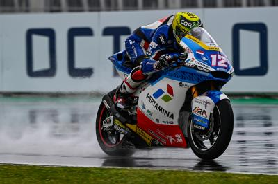 Moto2™ recap: Luthi sets the pace in Misano