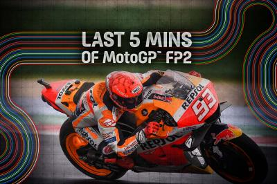 FREE: Relive the final minutes of FP2 from the San Marino GP