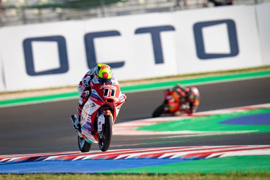 Sergio Garcia, Gaviota Gasgas Aspar Team, Gran Premio Octo di San Marino e della Riviera di Rimini