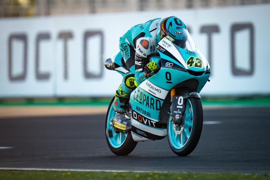 Xavier Artigas, Leopard Racing, Gran Premio Octo di San Marino e della Riviera di Rimini