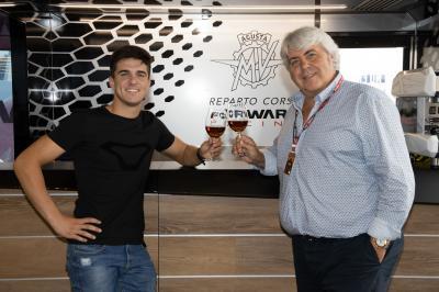 Ramirez rejoindra le team MV Agusta Forward Racing en 2022