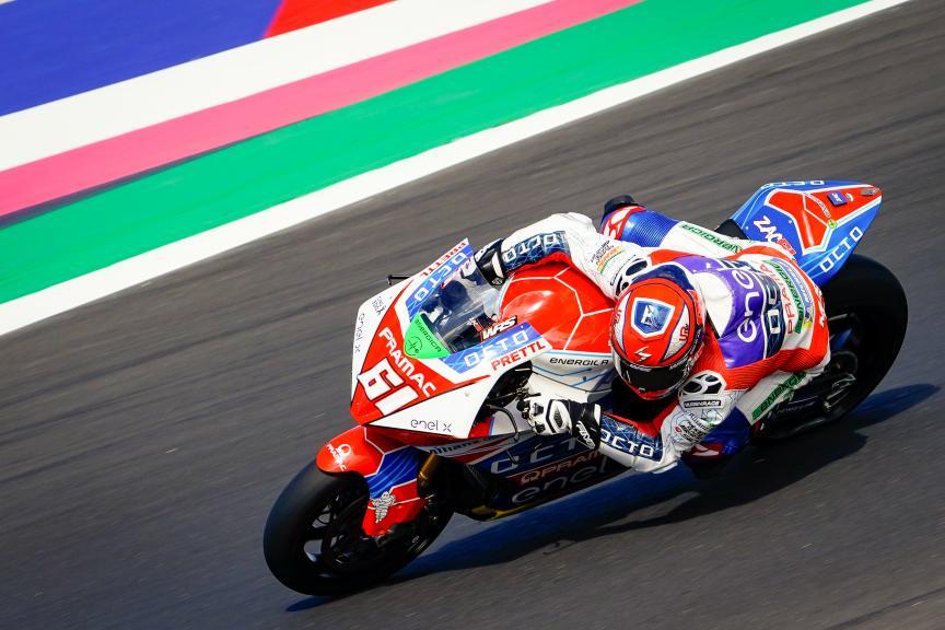 Alessandro Zaccone, Octo Pramac MotoE, Gran Premio Octo di San Marino e della Riviera di Rimini