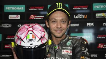 Photo gallery: Check out Valentino Rossi's new Misano helmet
