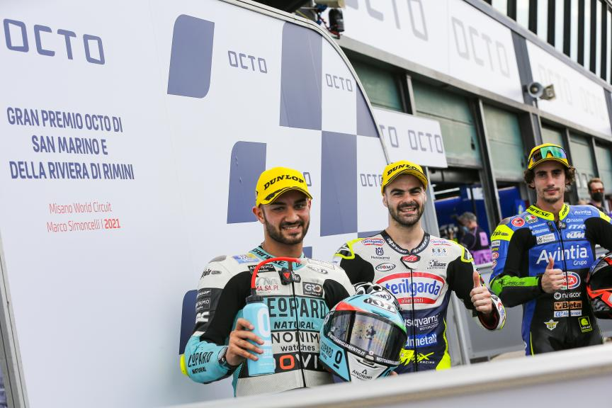 Romano Fenati, Dennis Foggia, Niccolò Antonelli, Gran Premio Octo di San Marino e della Riviera di Rimini