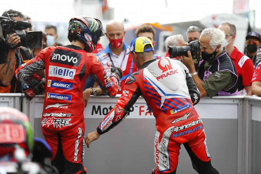 Francesco Bagnaia, Jorge Martin, Gran Premio Octo di San Marino e della Riviera di Rimini