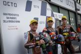 Raul Fernandez, Sam Lowes, Augusto Fernandez, Red Bull KTM Ajo, Gran Premio Octo di San Marino e della Riviera di Rimini