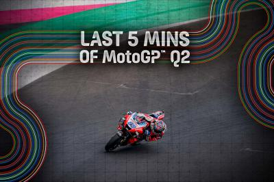 FREE: The final 5 minutes of Q2 from the San Marino GP