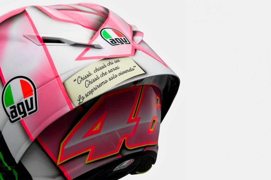 Valentino Rossi helmet RSM 2021