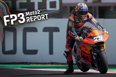 Moto2™ - Blessé, R. Fernández domine les FP3