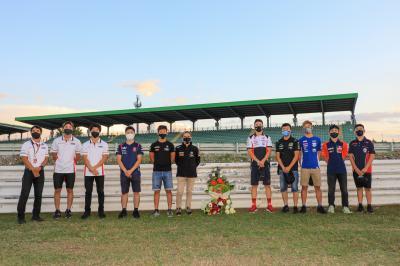Remembering Shoya Tomizawa at Misano Riders and teams pay their