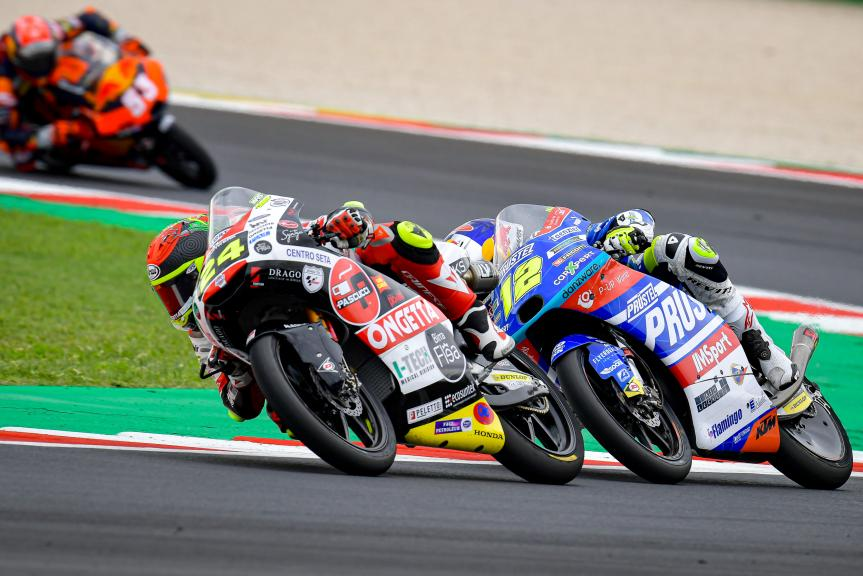 Filip Salac, Tatsuki Suzuki, Gran Premio Octo di San Marino e della Riviera di Rimini