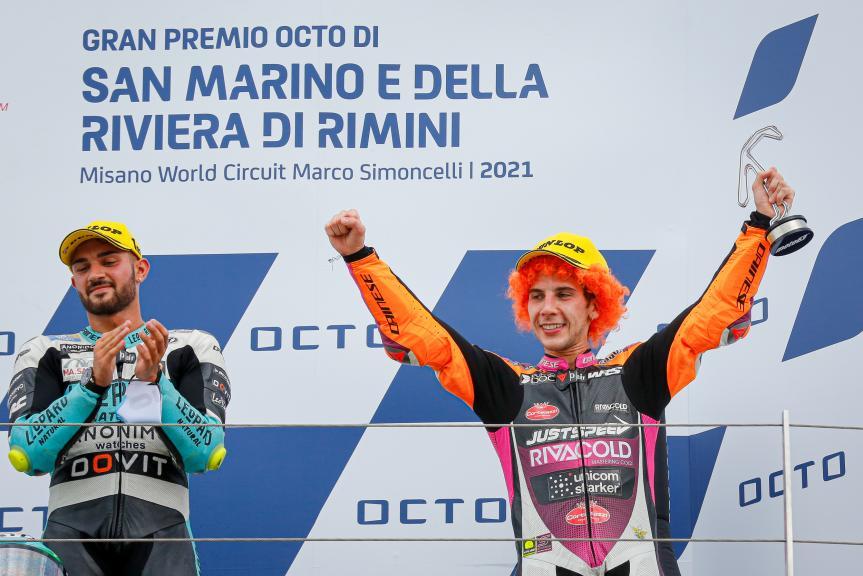 Andrea Migno, Rivacold Snipers Team, Gran Premio Octo di San Marino e della Riviera di Rimini