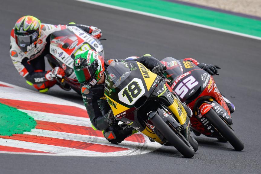 Matteo Bertelle, Bardahl VR46 Riders Academy, Gran Premio Octo di San Marino e della Riviera di Rimini