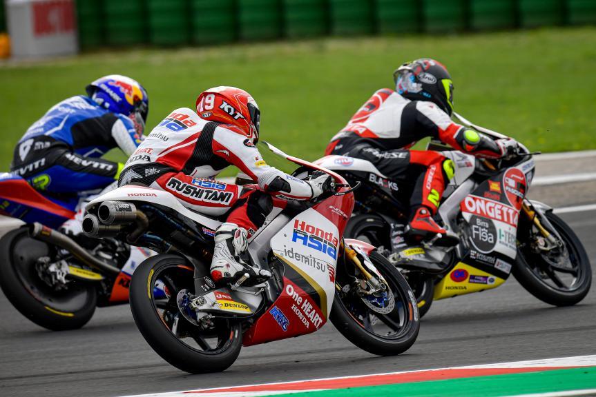 Andi Farid Izdihar, Honda Team Asia, Gran Premio Octo di San Marino e della Riviera di Rimini