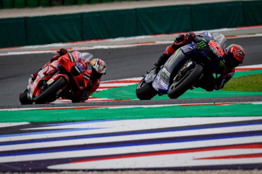 Fabio Quartararo, Jack Miller, Gran Premio Octo di San Marino e della Riviera di Rimini
