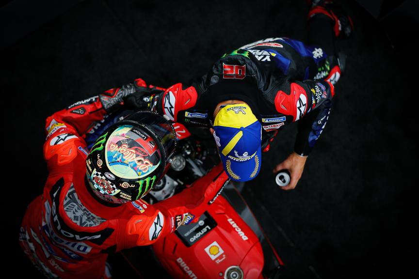 Fabio Quartararo, Francesco Bagnaia, Gran Premio Octo di San Marino e della Riviera di Rimini