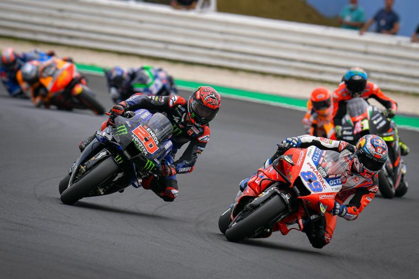 Fabio Quartararo, Jorge Martin, Gran Premio Octo di San Marino e della Riviera di Rimini