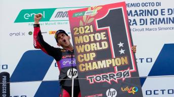 Photo gallery: Torres clinches MotoE™ World Cup crown