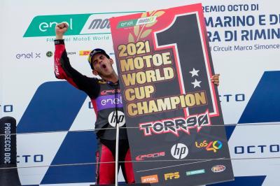 Jordi Torres si conferma vincitore della MotoE™!