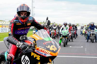 MotoE™ race recap: Tearful Torres retains his crown