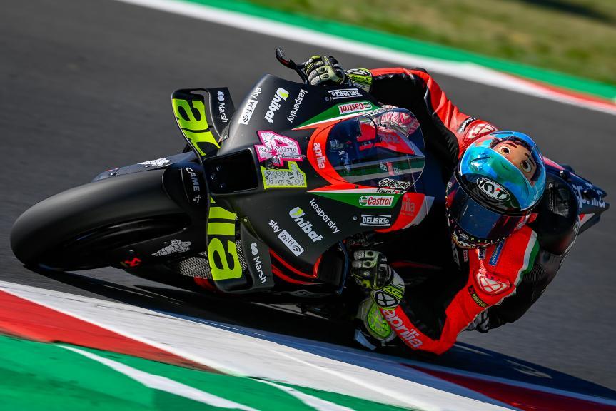 Aleix Espargaro, Aprilia Racing Team Gresini, Gran Premio Octo di San Marino e della Riviera di Rimini