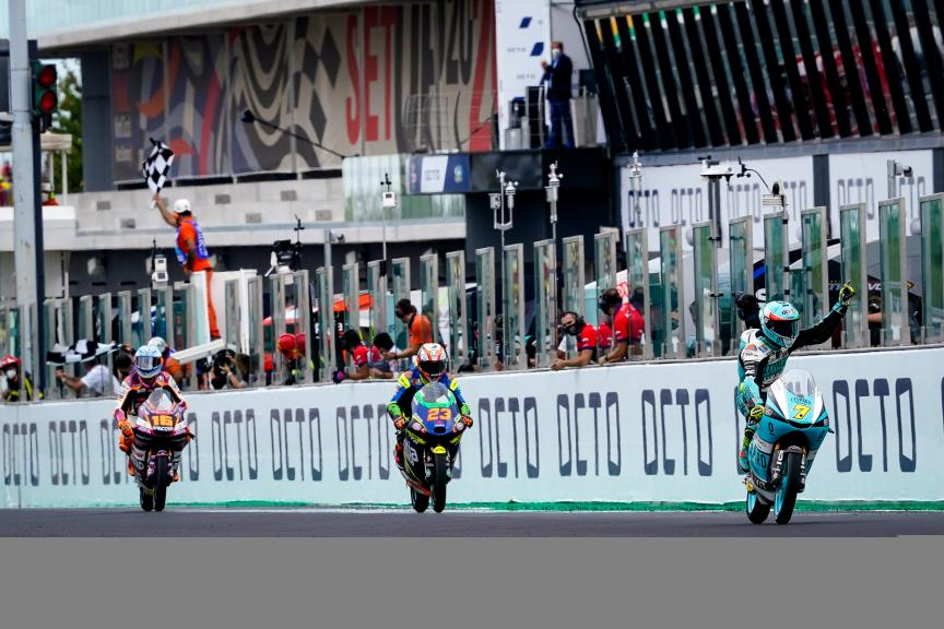 Dennis Foggia, Niccolò Antonelli, Andrea Migno, Gran Premio Octo di San Marino e della Riviera di Rimini