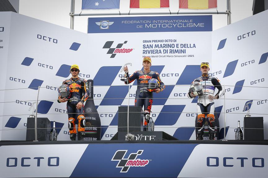 Raul Fernandez, Remy Gardner, Aron Canet, Gran Premio Octo di San Marino e della Riviera di Rimini