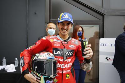 A bat out of hell: Bagnaia hails early race tactics
