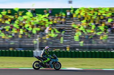 To be continued: Rossi begins his Misano farewell in style