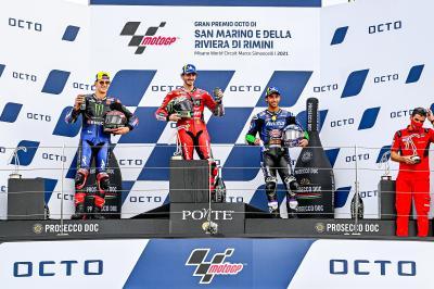 MotoGP™ Top 3: 'Pecco war heute auf einem anderen Niveau'
