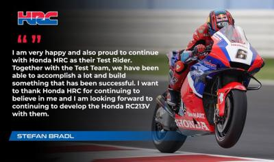 We are pleased to announce that @stefanbradl will continue as