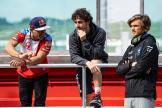 Martin, Bagnaia, Marini, Misano MotoGP™ Official Test
